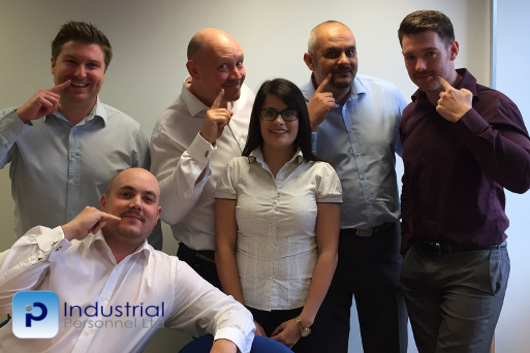 Industrial personnel recruitment movember challenge