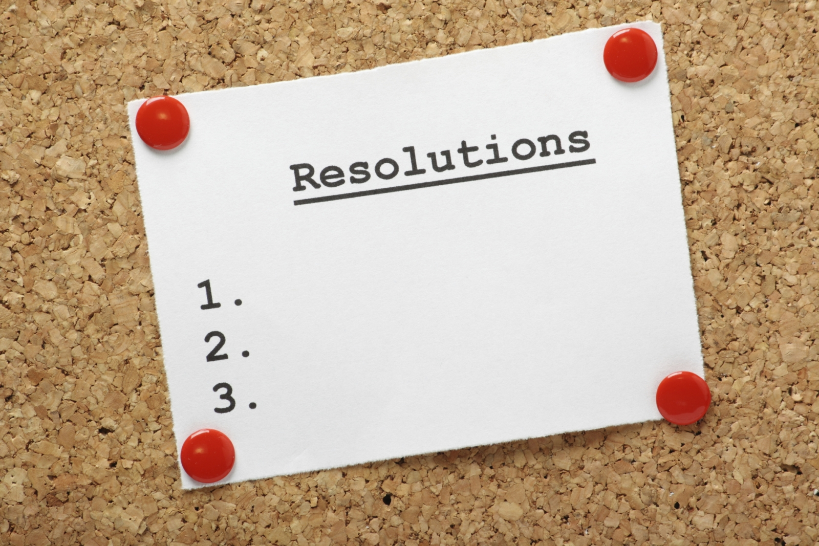 PROFESSIONAL NEW YEAR'S RESOLUTIONS