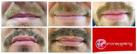 movember challenge, Industrial Personnel team progress
