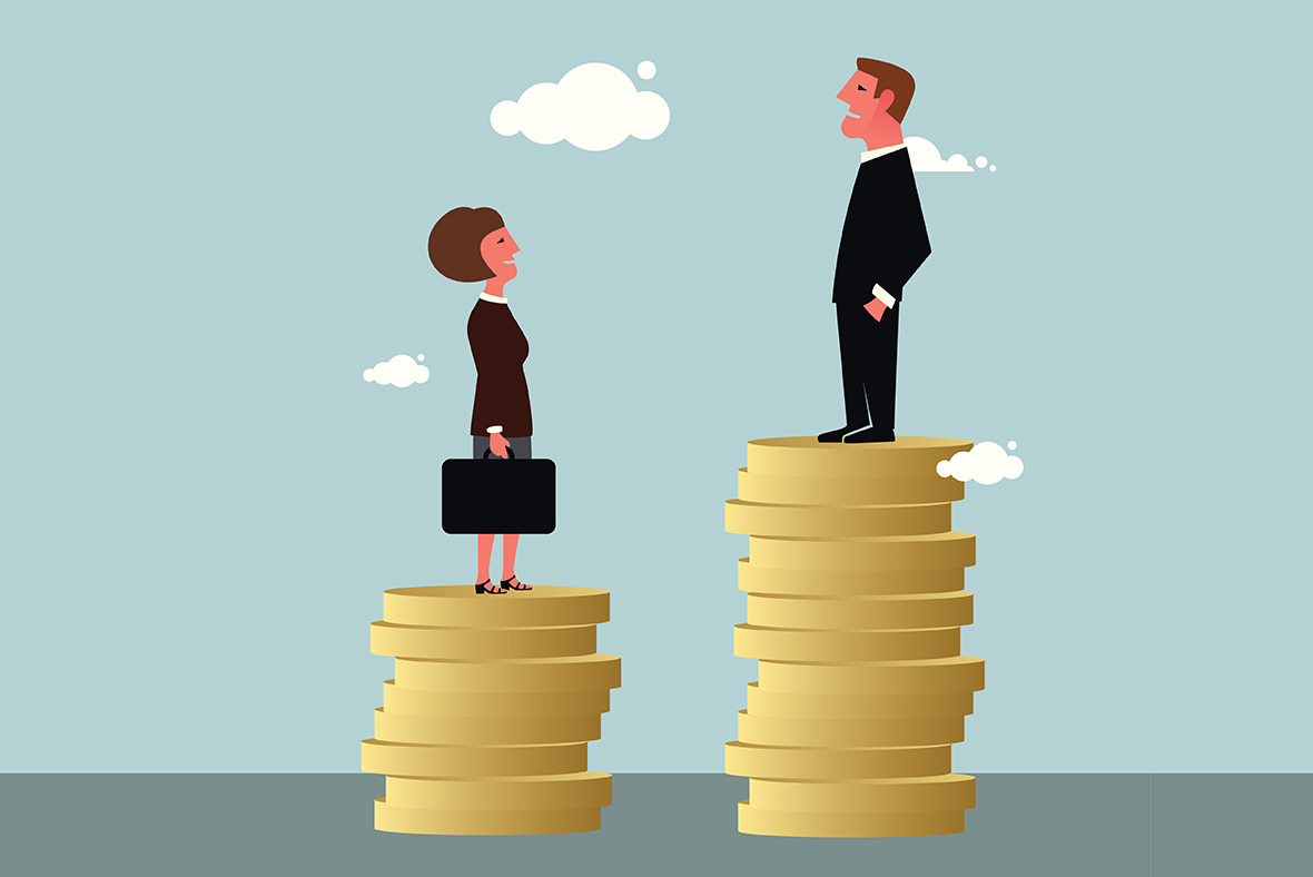 Gender pay gap in the workplace